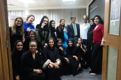 Abu Dhabi Museum students with USF team.
