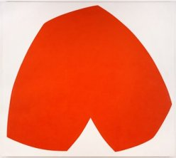 Red White by Ellsworth Kelly
