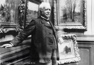 Paul Durand-Ruel was a prominent art collector in the early 20th century.