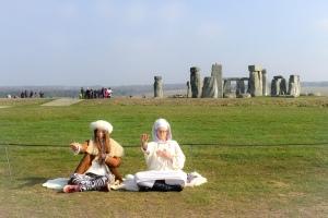 Solstice at Stone Henge