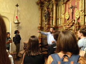 Visiting Mission Dolores to learn more about the legacy of colonialism on the California Indian population