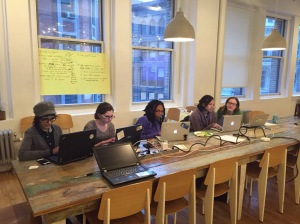 IGNITE hackathon participants in New York City