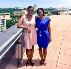 Erin Golightly and Shannon Crowner are both interns at the National Museum of African American History and Culture this summer.