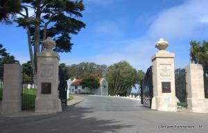 Cemetery at Presidio
