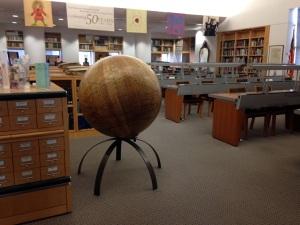 The reading room of the Daniel E. Koshland San Francisco History Center.