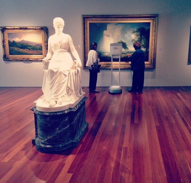 robotic technology inclusion at the fine arts museums of san