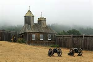 Fort Ross on the California Coast