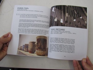 Booklet for exhibition