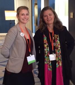 Lauren Garnese and Stephanie Brown