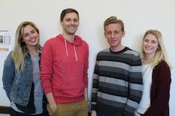 The New MSGA Officers:  Allie, Ben, Morgan and Lauren.