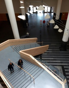 Old Meets New - Botta Atrium with New Staircase